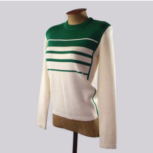 Vintage 70s Sport Around Women's Wool Sweater Sz M